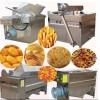 艾斯科牛肉干全自动油炸流水线 半自动型油炸机 电加热油炸设备
